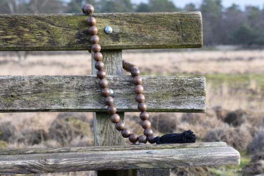 Ketting prayer XL brown