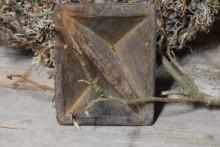 Oud houten kruidenbakje 3