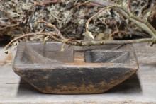 Oud houten kruidenbakje 4