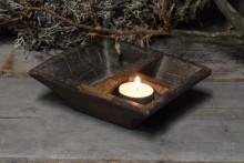 Oud houten kruidenbakje 1