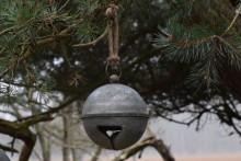 Zinken kerstbal