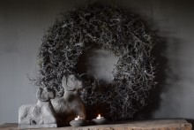 Krans grey moss 60 cm