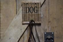 Rattan hondenriem hanger