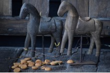 Paardje op standaard S