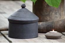 Oud houten Tika pot XL 4