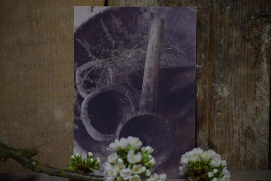 Kaart houten lepels