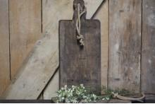 Zware robuuste houten snijplank