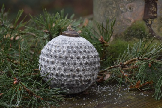Kerstbal/ ornament m