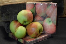 Papieren servetten appels