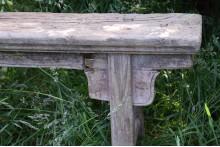 Chinees houten bankje