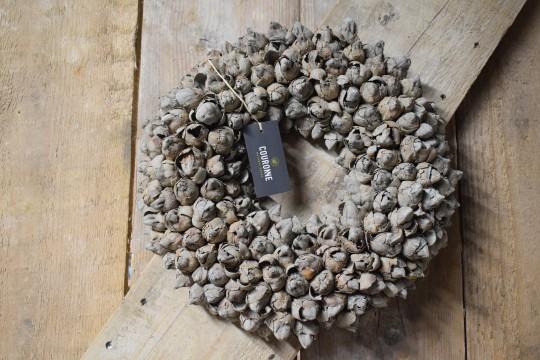 Krans coco fruit wreath